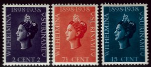 Suriname #164-166 Mint VF SC$5.00....Grab a Bargain!