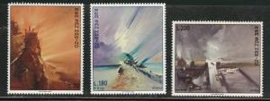 San Marino Scott 710-712 MNH** 1969 ART Viola paintng set
