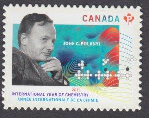 Canada - #2489i International Year of Chemistry, Die Cut Stamp - MNH