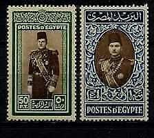 Egypt 269C-D MH/MNH SCV61