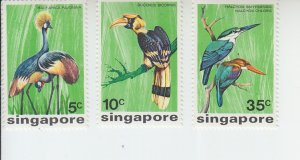 1975 Singapore Birds (Scott 236-38) MH