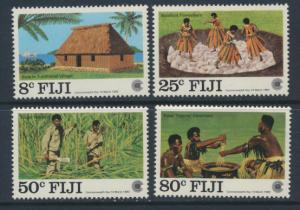 Fiji SG 655-658 SC# 485-488 MNH Commonwealth Day see scan