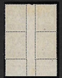 AUSTRALIA SG132 1932 6d CHESTNUT WHITE HAIRLINE FROM VALUE TO MAP MTD MINT