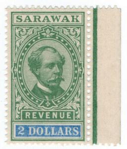 (I.B) Sarawak Revenue : Duty Stamp $2
