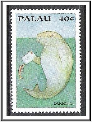 Palau #335c Wildlife Carrying Letters MNH