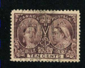 Canada #57  used  VF 1897   PD