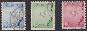 Ryukyu Islands C1-C3 used (1950)
