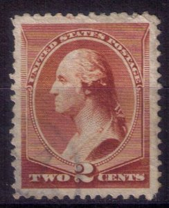 US Sc 211b Used Lightly Cancelled F-VF