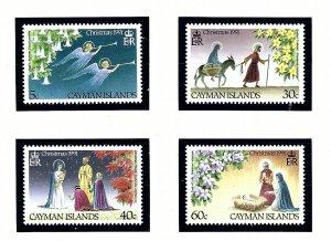 Cayman Is 632-35 MNH 1991 Christmas    (KA)