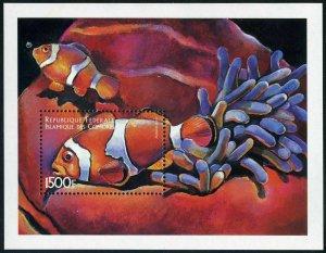 Comoro Isls 876, MNH. Fish 1998: Amphipzion percula.