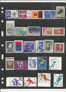 RUSSIA COLLECTION ON STOCK SHEET, MINT/USED