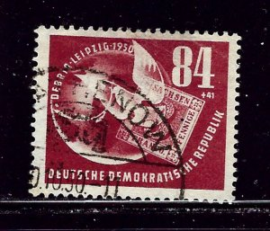 Germany (DDR) B21 Used 1950 issue  pencil markings on back