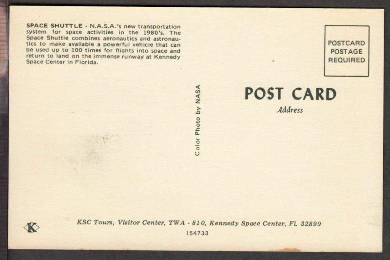 1981 Space Achievement Sc FDC Maxi Card NASA post card, Space Shuttle in flight