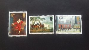 Great Britain 1967 Paintings Mint