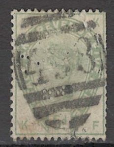 COLLECTION LOT OF # 1647 GREAT BRITAIN # 104 1884 CV= $210