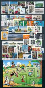 West Germany Bundespost 2015 Complete Year Set without selfadhesive stamps MNH