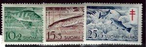 Finland B126-B128 MNH VF  SCV$6.00...Such a Deal!