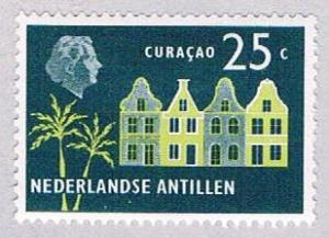 Netherlands Antilles 249 MLH Old Buildings 1958 (BP32515)
