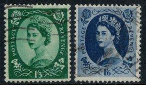 Great Britain #307-8  CV $6.00