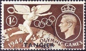 TANGIER 1948 KGVI 1/- Brown SG260 FU