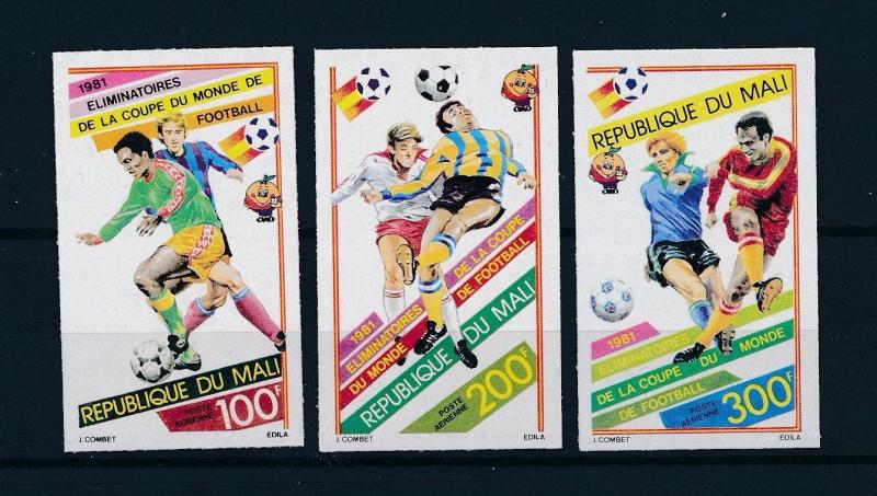 [60433] Mali 1981 World Cup Soccer Football Imperforated MNH