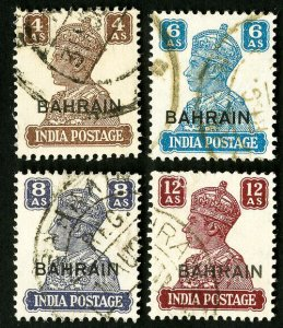 Bahrain Stamps # 48-51 Used XF