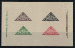 Costa Rica #183*  CV $6.50  Souvenir sheet