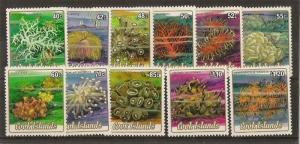 Cook Islands 1984 Corals Mint (11v)