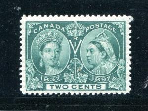 Canada #52 Mint  NH VF