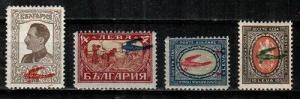 Bulgaria Scott C1-4 Mint hinged (Catalog Value $53.70)