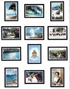 Cayman Is 636-47 MNH 1991 Island Scenes    (KA)