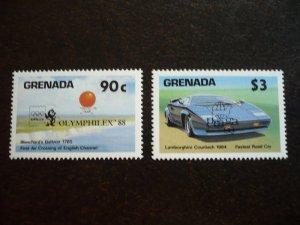 Grenada - Partial set - Philatelic Overprints