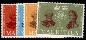 MAURITIUS QEII SG307-310, complete set, NH MINT.