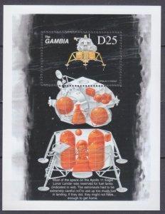 1999 Gambia 3228/B419 30th Anniversary Of Apollo 11 5,50 €