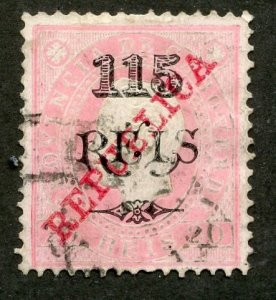 Cape Verde, Scott #185, Used