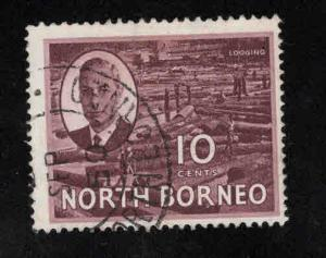 North Borneo Scott 250 Used stamp