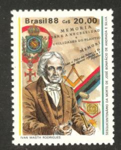 Brazil Scott 2131 MNH** 1988 Jose Bonifacio stamp