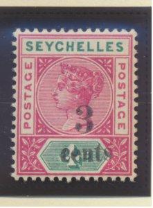 Seychelles Stamp Scott #22, Used