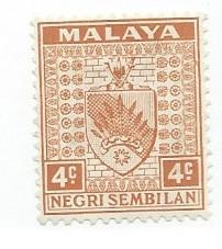 Malaya-Negri Sembilan #23  (MH) CV $1.40
