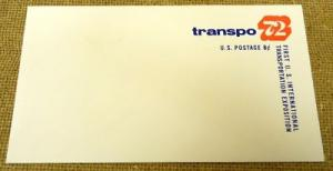 U565,  8c Transpo 72 U.S. Postage Envelope