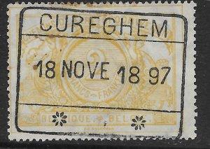 Belgium Q24 used.  Railway Stamp