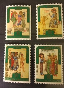 Vatican City Sc# 1015-1018 MNH (Mint Never Hinged) Complete Set 1996