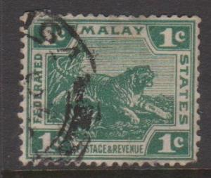 Malaya Federation Sc#38 Used