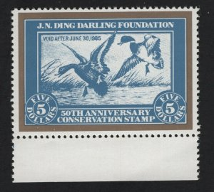 United States MINT RW1 REPRINT DUCK STAMP WILDLIFE CONSERVATION - BARNEYS