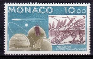 1986 Monaco 1761 Halley's Comet 4,00 €