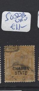 INDIA CHAMBA  (P2807B)    KGV   6A  SG 50B   VFU