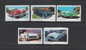 US,3931-35,1950'S SPORT CARS, 2005,FULL SETS COLLECTION,MINT NH OG,VF