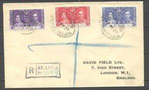 St.Lucia  cover Coronation-37