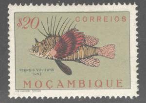 Mozambique Scott 335 MH* Fish