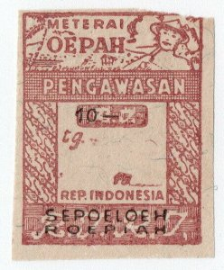 (I.B) Indonesia Revenue : Wages Tax 10R (Upah)